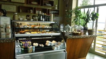 Voxx Coffee House and Bakery - right down the street 3 min walk