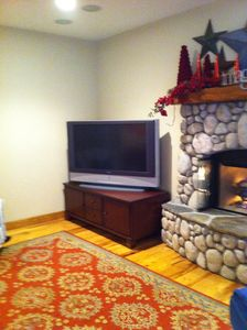 Family Room Big Screen TV -- Perfect for Sports, Movies or Games