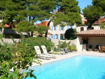 Peyriac-Minervois apartment rental - Shared swimming pool