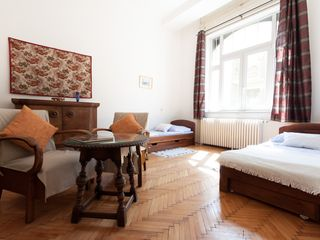 Budapest apartment photo - View of second room with two daybeds