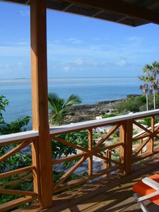 Great Exuma cottage rental - From the balcony