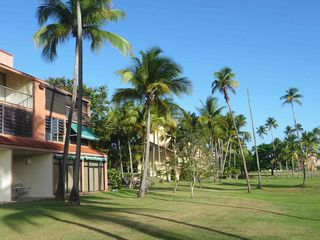 Humacao condo photo - The view in front of the villa. We are on the left.