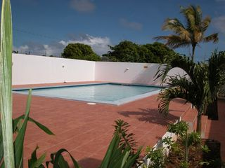 Anguilla villa photo - Private Walled Swimming Pool day time