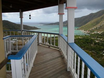 Coral Bay house rental - Side Deck and View
