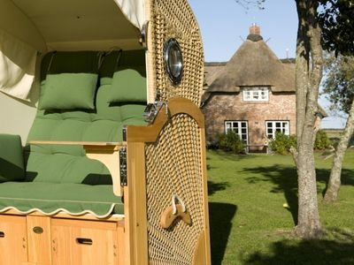 Your exclusive dream holiday home on Foehr - classic thatched roof