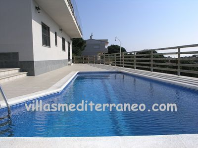 luxury villa with private pool, 7 persons, near the beach