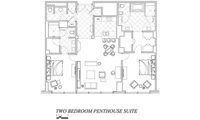 SPACE IS THE REAL LUXURY WITH YOUR TWO BEDROOM PENTHOUSE!!!