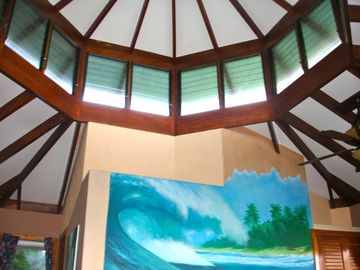 Master Bedroom Artistic Ceiling!