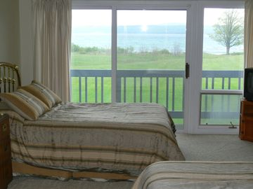 View of Bay from Bedroom