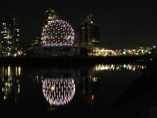 Vancouver condo photo - Science World from False Creek