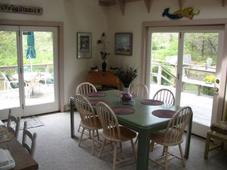 Chappaquiddick house photo - dining area