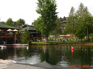 Lake Placid condo photo - Free access to Marina,restaurant,beach & swim area, Boat rentals