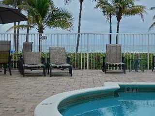 Deerfield Beach condo photo - heated pool area. steps to the sandy beach