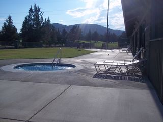 Eagle Crest townhome photo - Two Hot Tubs at the Ridge, Pool and Gym