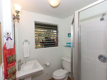 2nd Full Bathroom Adjacent to 2nd Bedroom. Has Shower