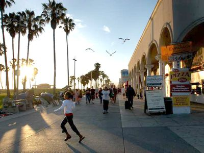 The Venice Boardwalk