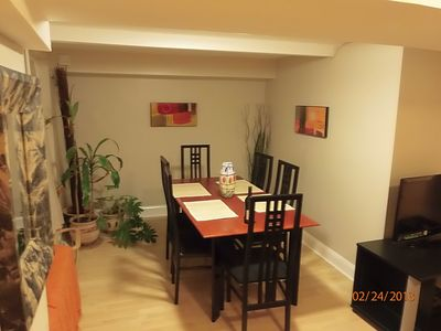 Downtown - Washington DC condo rental - Dining Area