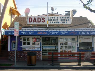 Don't forget a Balboa Bar or Frozen Banana from the one and only Dad's.