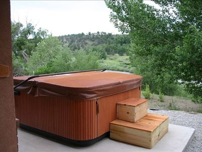 Jacuzzi hot tub for star gazing or just relaxing