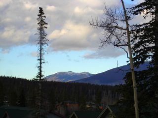 Silverthorne townhome photo - Ute Peak, to northeast, from deck