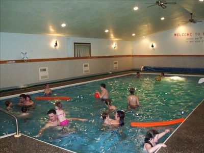 Extra Large Indoor Swimming Pool w/Slide 20 x 40