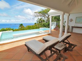 Caribbean villa photo