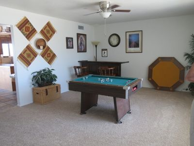 Game room (Bar in back corner)