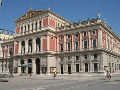 Concert Hall WIENER MUSIKVEREIN - just few minutes walk away from the apartment