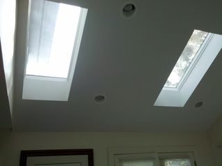 Christmas Cove house photo - Skylights in the master bedroom.