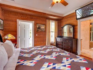 Key West house photo - The 4th bedroom has its own private porch and a large TV.