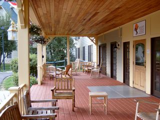 Waterville Valley condo photo - Porch of Golden Eagle Lodge