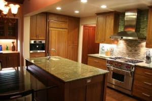 Solana Beach house photo - Fully equipped chef's kitchen with Wolf stove, Miele coffee machine and Sub Zero