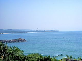 Punta Mita condo photo - Glorious view from front terrace of our property!