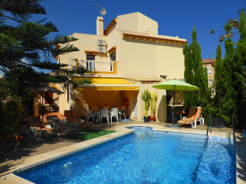 3 Bed Beach House With Private Swimming Homeaway El Mojon
