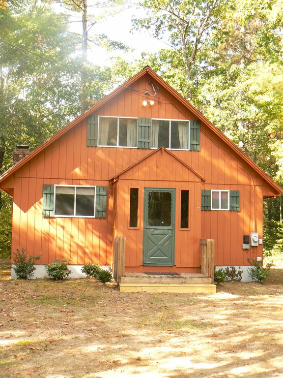 Location cottage close to echo lake homeaway white for Echo lake cabin rentals