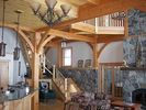 Great Room - Saranac Lake house vacation rental photo