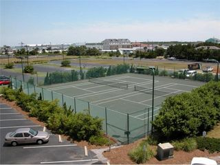 Atlantic Beach villa photo - Lighted Tennis Courts