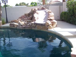 Las Vegas house photo - Pool Slide
