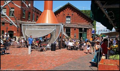 cafe balzac at the distillery district