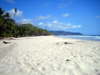 Mal Pais estate photo - The Beach Estates soft white sand!