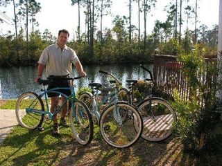 El Centro Beach cottage photo - We now offer Beach Cruiser Style Bikes & Hybrid Bike Rentals Avail. Daily/Weekly