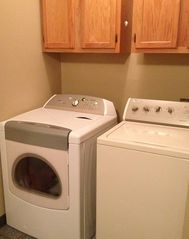 Dumas townhome photo - Full size washer and dryer