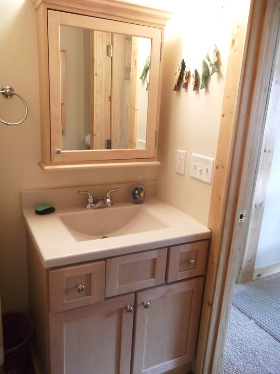 HUGE walk in shower attached to mudroom with washer and dryer