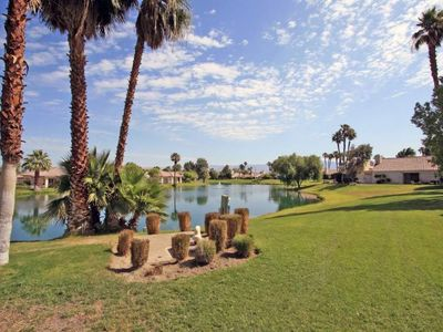 A complimentary golf cart will make it easy to explore Mission Hills CC