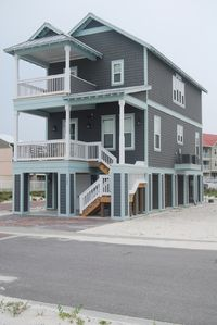 Navarre Beach house rental - Beach House with 3 decks.