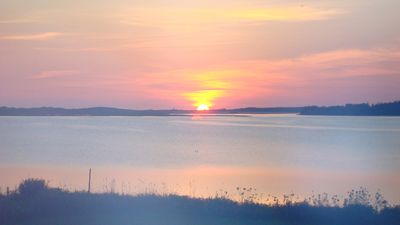 Sunrise over Brackley Bay