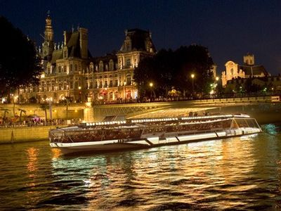 at 200 meters the river Seine