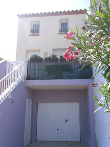 house leucate beach - 80m from the sea - 4 people + cot