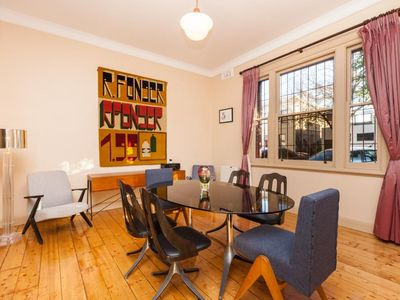 Madeline - vintage apartment in the heart of Fitzroy, adorned with beautiful boutique and designer furniture and fittings
