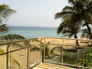 Rincon apartment rental - Balcony View from sliding door